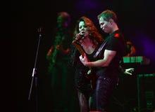 Sandra Ann Lauer Concert Royaltyfri Bild