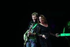 Sandra Ann Lauer Concert Arkivfoton
