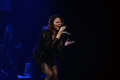 Sandra Ann Lauer Concert Stock Image