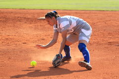 Sandra Bosdachin - softball Royalty Free Stock Photo