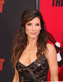 Sandra Bullock. Academy Award-winning actress Sandra Bullock arrives on the red carpet at the Ziegfeld Theatre in Manhattan for the New York premiere of her Royalty Free Stock Photos