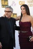 Sandra Bullock & Alfonso Cuaron Royalty Free Stock Image