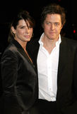 Sandra Bullock and Hugh Grant Stock Image