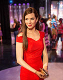 Sandra Bullock. Wax statue of Sandra Annette Bullock is an American actress and producer.,Madame Tussauds museum, Las Vegas Stock Photography