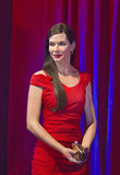 Sandra Bullock Waxed at 50. Film star Sandra Bullock's wax figure made its New York debut at Madame Tussauds for her 50th birthday. The unveiling took stock photography