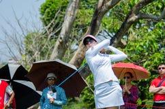 Sandra Gal av USA i Honda LPGA Thailand 2016 Arkivbild