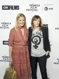 Sandra Lee und Jane Rosenthal Arrive auf Premiere am 17. Tribeca-Film-Festival Stockfotos