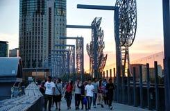 Sandridge-Brücke Melbourne Stockbild