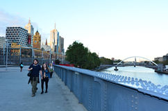 Sandridge Bridge - Melbourne Royalty Free Stock Image