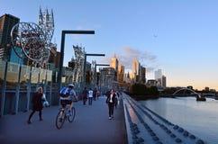 Sandridge Bridge - Melbourne Stock Photos