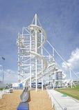 Sandridge sky trail & Slide Stock Image