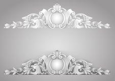 Sandrik arquitetónico do elemento ilustração do vetor