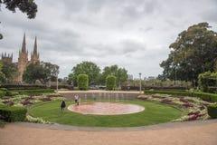 Sandringham pomnika ogródy zdjęcie royalty free