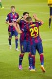 Sandro en Luis Suarez Stock Foto