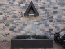 Sandro Pertini-monument in Milaan Stock Foto