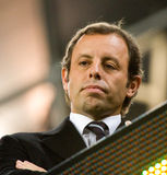 Sandro Rosell (FC Barcelona) Stock Photo