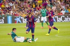 Sandro van FC Barcelona Stock Foto