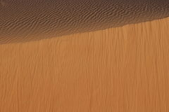 Sands of Arabia from the avian flight Royalty Free Stock Image