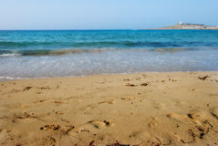 The sands at Armier Bay Royalty Free Stock Photography