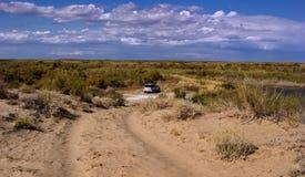 Sands Balkhash. Stock Image