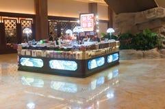Sands center shopping mall street Stock Photo