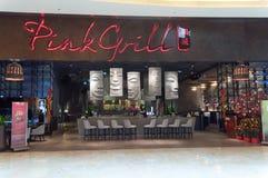 Sands centrerar shoppinggalleriagatan Royaltyfria Bilder