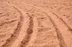 Sands of a desert Stock Photos