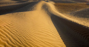 Sands and dunes of Sahara desert. Background Stock Image