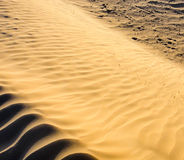 Sands of Sahara. Wind, Backgroun, Texture Royalty Free Stock Photography