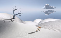 Sands and time Royalty Free Stock Photo