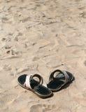 sandsandals Arkivbilder
