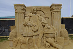 Sandsculpture节日 免版税库存照片