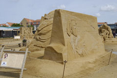 Sandsculpture节日 库存图片