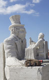 Sandsculpture 3 Royalty Free Stock Photos