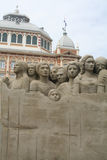 Sandsculpture Stockbilder