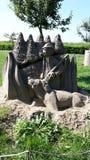 Sandsculpture Foto de Stock Royalty Free