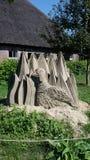 Sandsculpture Fotos de Stock