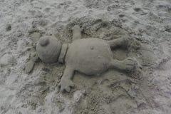 Sandsculpture 免版税库存照片