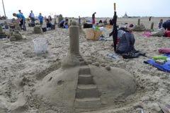 Sandsculpture 库存照片