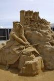 Sandsculpture festival Stock Image