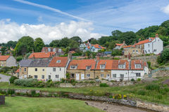 Sandsend in North Yorkshire royalty free stock photo