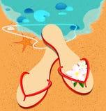 Sandshoes Royalty Free Stock Photo