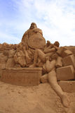 Sandskulptur Royaltyfria Bilder