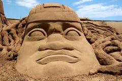 Sandskulptur Arkivbilder