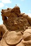 Sandskulptur Arkivfoto