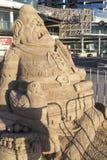Sandskulptur Royaltyfri Fotografi