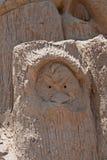 Sandskulptur Royaltyfri Bild