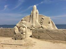 Sandskulptur Stockbilder
