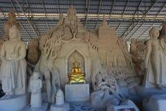 Sandskulpturen Stockfotos
