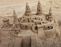 Sandslott Arkivfoto